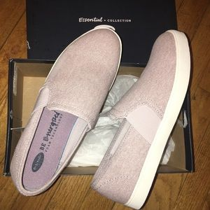 Purple Slip Ons